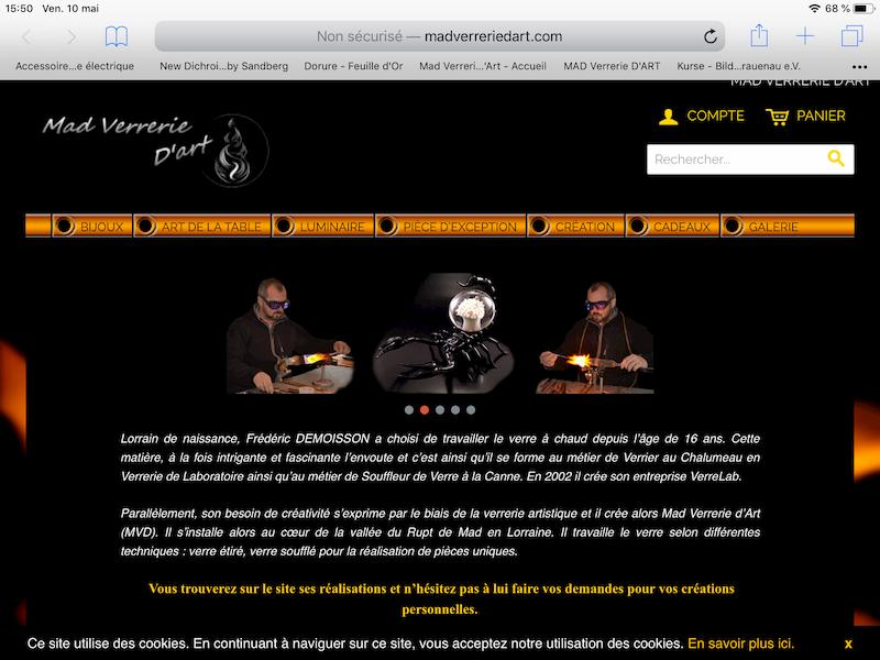 Ancien Site Mad Verrerie d'Art