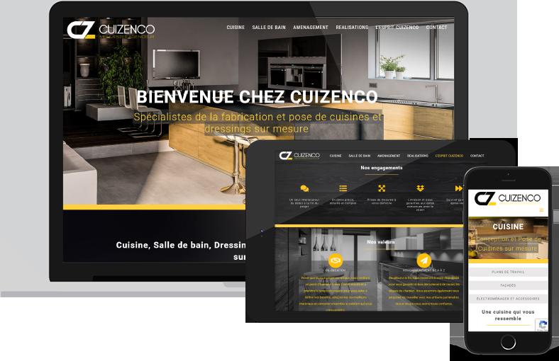 Site Internet Cuizenco
