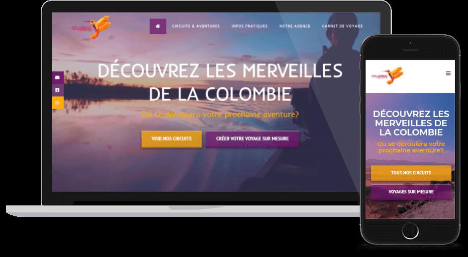 Nouveau site Colombia Infinita