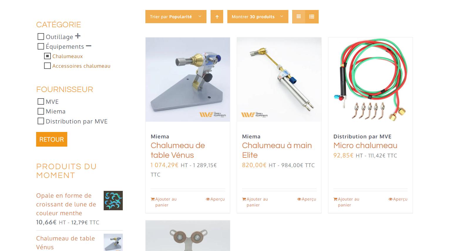 Catalogue MVE | Mobius Web – Création de site Web et Agence digitale pour PME