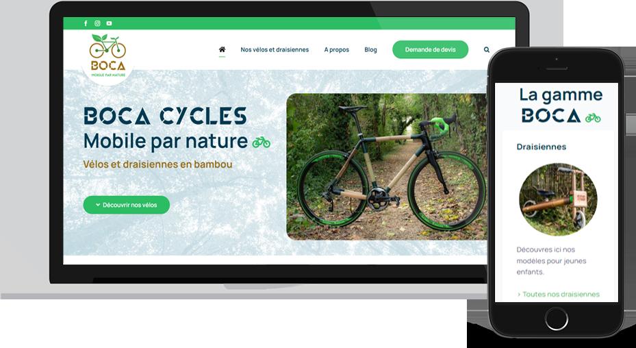 Nouveau site Boca Cycles