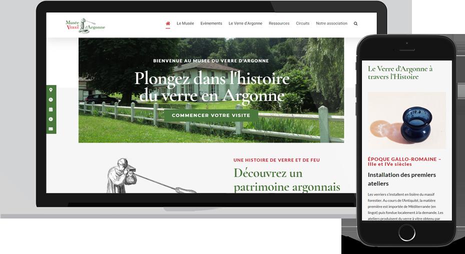 Nouveau site du Musée du Verre d'Argonne